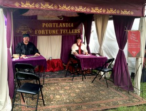 Portlandia Fortune Tellers Booth