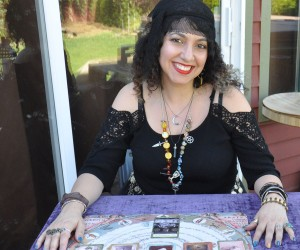 Backyard Tarot Reading